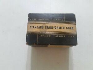 VINTAGE-STANCOR-FILTER-CHOKE-POWER-TRANSFORMER-C-1002-NIB-OLD-STOCK-NEW-IN-BOX