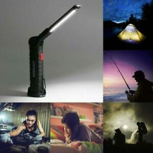 USB-COB-LED-Magnetic-Work-Light-Car-Garage-Mechanic-Rechargeable-Torch-Lamp