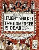 The Composer Is Dead Lemony Snicket W/cd Brand Hardcover Book Best Price