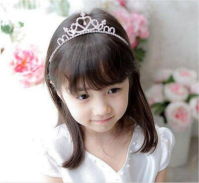 New Rhinestone Crystal Tiara Hair Band Girl Bridal Princess Prom Crown Headband