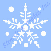 3 Snowflake Stencil Christmas Stencils Template Pattern Templates Craft 9