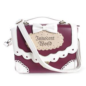 Details About Kawaii Gothic Bow Cute Sweet Harajuku Handbag Messenger Bag 997