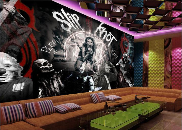Papel Pintado Mural Vellón Cantante De Escenario Oscuro 2 Paisaje Fondo Pantalla