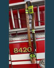 Custom Leather Firefighter Radio Holster Strap