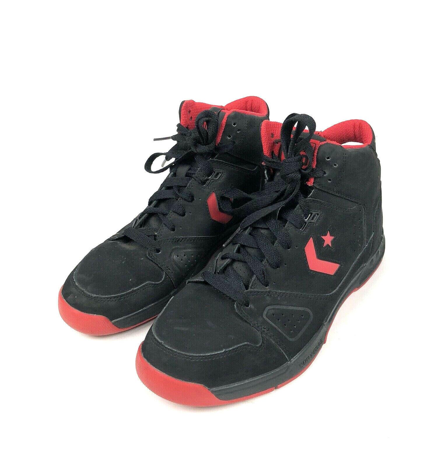 Converse Evo Basketball Sneakers Men's Size 10 Drop Step Mid Black Varsity