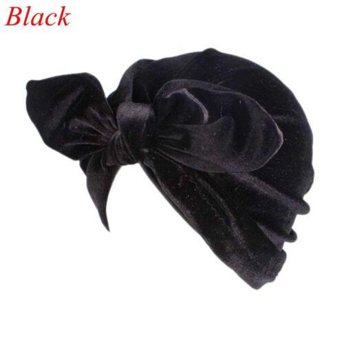 kopf wickeln head cover chemo gap indische hijab bowknot gap samt hut