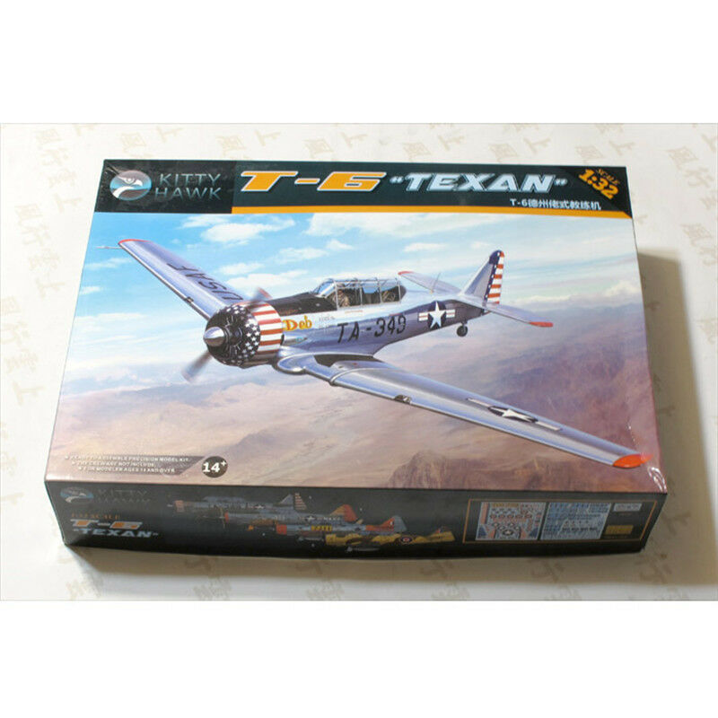 2018 Hot Sale Kitty Hawk KH32001 1 32 T-6 Texan  Model Kit New