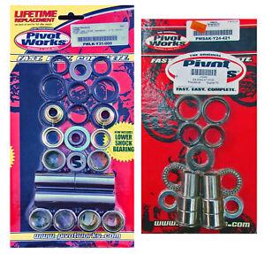 Pivot Works Shock Linkage & Swingarm Bearing Kit - 2006-on Yamaha YZ125