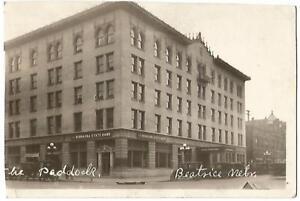 Image Is Loading Beatrice Nebraska Ne Gage County Hotel Paddock Amp