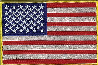 USA Flag American Flag 5x7 Patch FAST USA SHIPPING