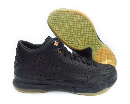NEW 220  NIKE Kobe X Mid Ext 802366 002 Black Gum Men's Basketball Shoes