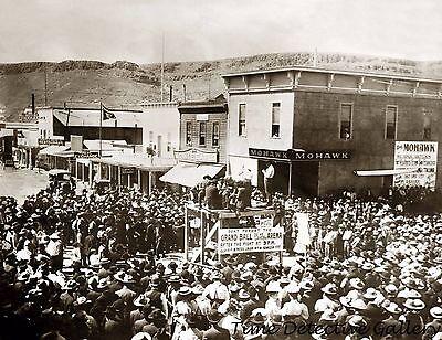 Street Scene, Goldfield, Nevada - 1905 - Historic Photo Print
