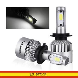 2-pcs-Bombilla-H7-LED-Coche-16000LM-Faros-Delanteros-Bombillas-para-Coche-6000K