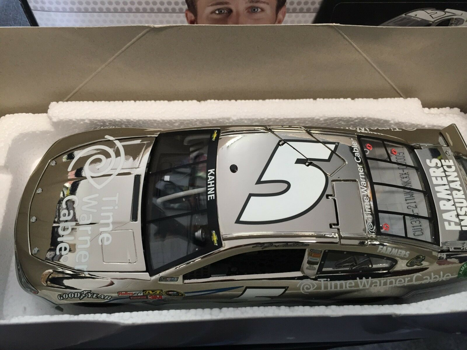 1 24 acción Kasey Kahne  5 Time Warner Cable 1 de 144  9 2013 Chevy Ss  Níquel