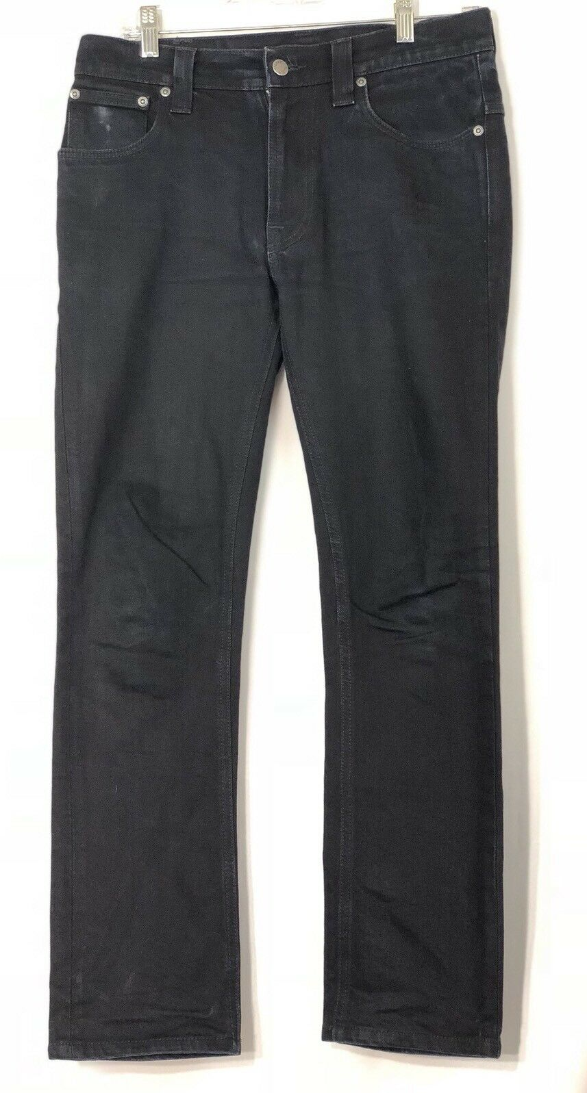 Nudie Dark bluee Unisex Jeans Sz W30 L29 Very Good Condition Made In