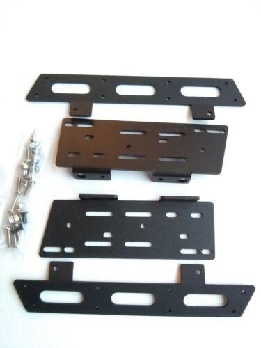 Side step BLACK MATT aluminum for SCX10 ii or SCX10 crawler rc custom