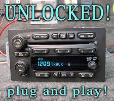 2003 2006 Gmc Yukon Sierra Tahoe 6 Disc Cd Changer Radio Stereo Unlocked