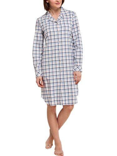 Seidensticker Damen Sleepshirt Nachthemd Langarm 1//1 100 cm aus Flanell 153981