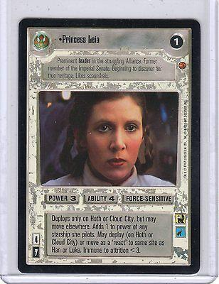 Star Wars SWCCG Leia Rebel Princess Reflections III N//M