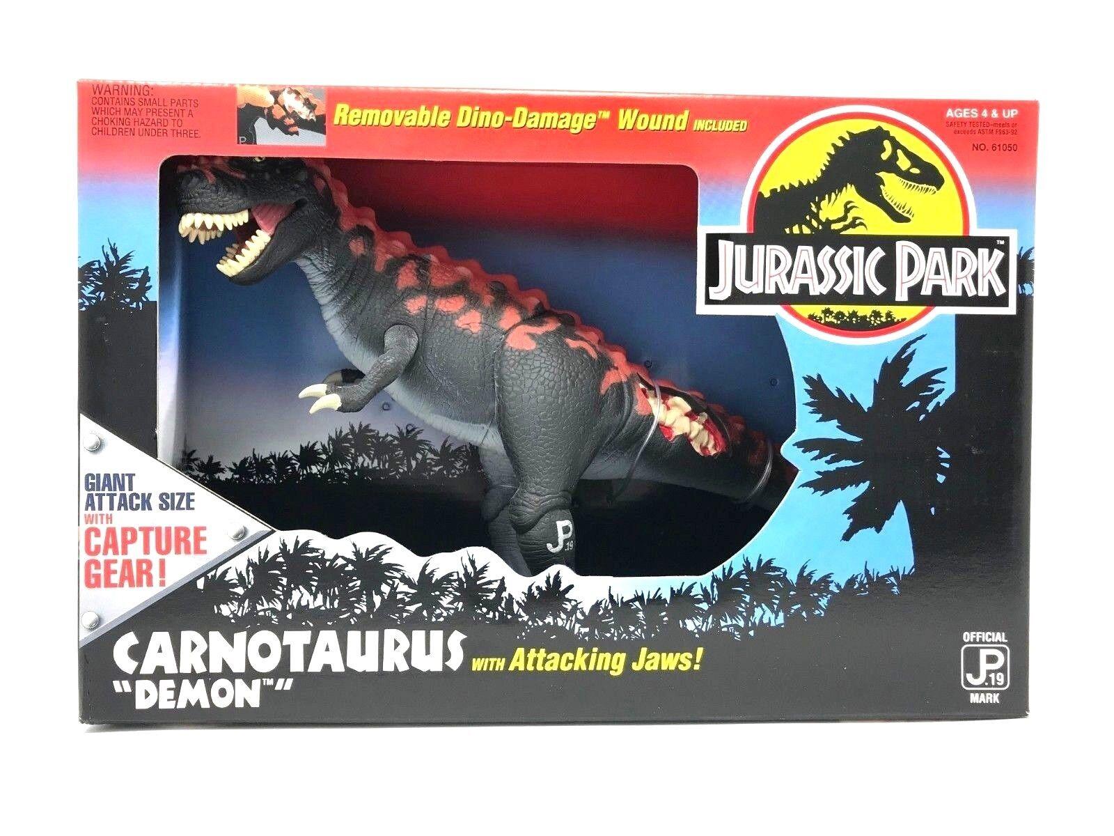 1994 Kenner Jurassic Park Series 2 Carnotaurus Demon New MIB Dinosaur Toy Figure
