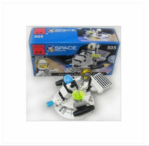 Puzzle assembling fight inserted toy building blocks 505 exploration UFO