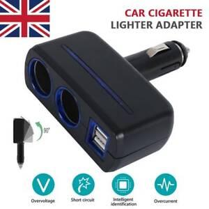 12V-Car-Cigarette-Lighter-Socket-Adapter-Double-Plug-Charger-Splitter-Dual-USB