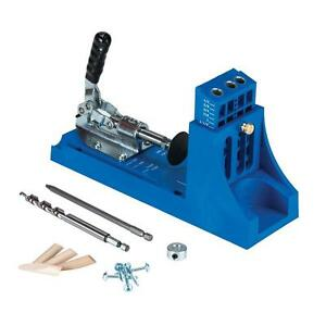 Kreg Pocket Hole System Joinery Kit Jig Drill Bit Screw ...
