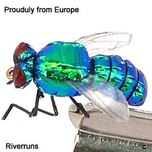 10PC super réaliste UV mouches Caddis Nymphe Combo Set suprême fièrement de l/'Europe