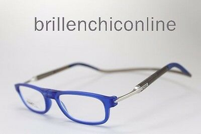 "GREY CXC-FAGA//1  /""NEU/"" CLIC FLEX Magnet Brille Lesebrille BLUE"