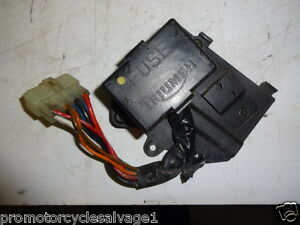 triumph thunderbird 1993 2003 fuse box used motorcycle parts ebay rh ebay co uk