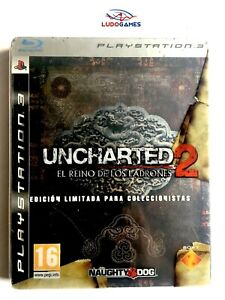 Uncharted-2-Royaume-Uni-Voleurs-Edition-Collector-PS3-Jeu-Videojuego-Mint
