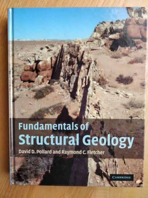 Fundamentals of Structural Geology von David Pollard (2005, Gebundene Ausgabe)