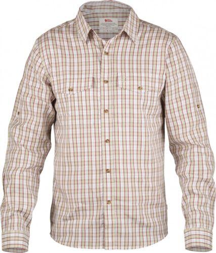 limestone Langarm-Herrenhemd Fjäll Räven Abisko Cool Shirt LS Men
