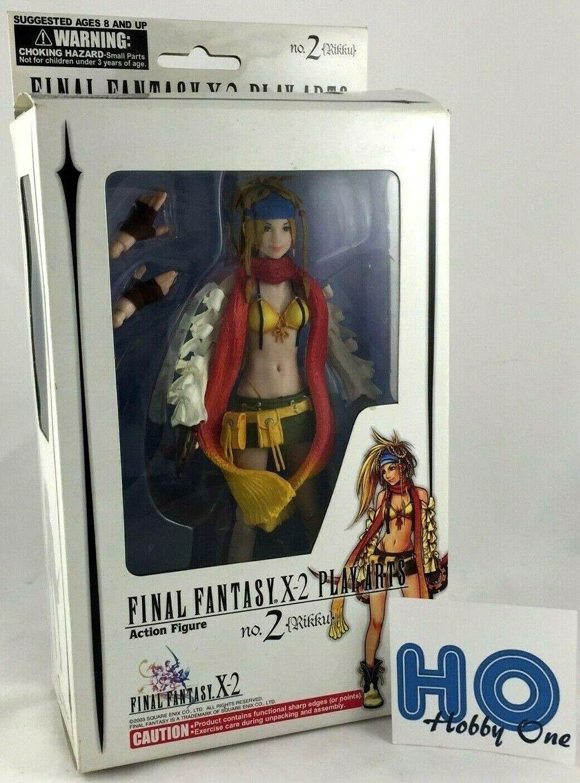 Final Fantasy X-2 - Jugar Arts - No. 2 - Rikku - Acción Figura - PVC - FF