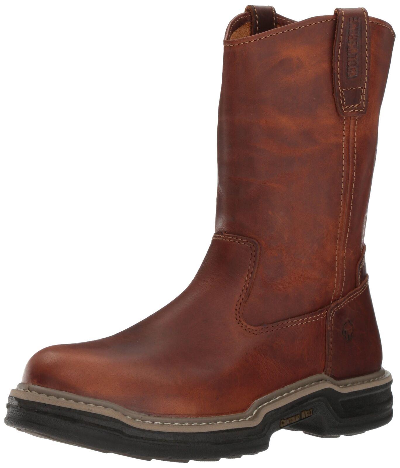 Wolverine Men's W02429 Raider Boot Brown 10 D(M) US