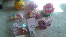 Hello Kitty Toy Figure Playset Lot Bandai Restaurant Mermaid Carriage Kitchen