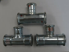 3x T-Stück reduziert 35x28x35 35mmx28mm Fitting versch. Hersteller unbenutzt