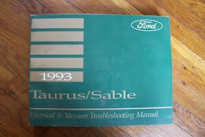 image is loading 1993-ford-taurus-mercury-sable-wiring-diagram-electrical-