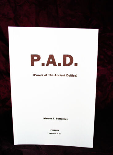 POWER OF THE ANCIENT DIETIES Finbarr Grimoire Occult Magick Marcus Bottomley