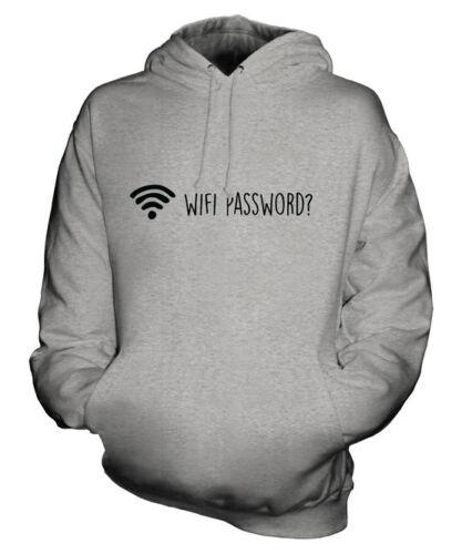 Maglia Regalo Tecnologia Felpa Wifi Unisex Password Idea Divertente tqWzwc8T