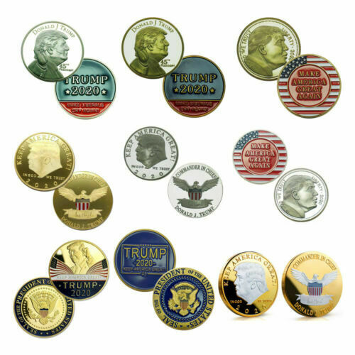 10 US President Donald Trump American Eagle Commemorative Novelty Coin 2017//2016