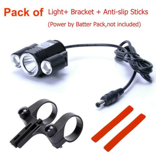 Ultra Bright CREE T6 LED Cycling Bike Bicycle Front Light Lamp Headlight DC Port