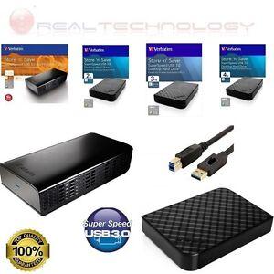 HARD-DISK-ESTERNO-VERBATIM-3-5-034-1TB-2TB-3TB-4TB-3-0-HD-PER-PC-TV-CONSOLE-NERO