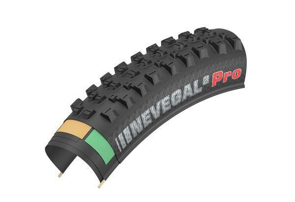Kenda Nevegal 2 Pro Folding EN-DTC Tubeless Ready Tire 29 x 2.6 Bike