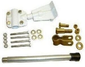 Seastar Steering Connection Kit Transom Support Mounting
