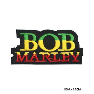 BOB Marley Band Sew on Iron on Embroidered Patch Badge For Clothes etc