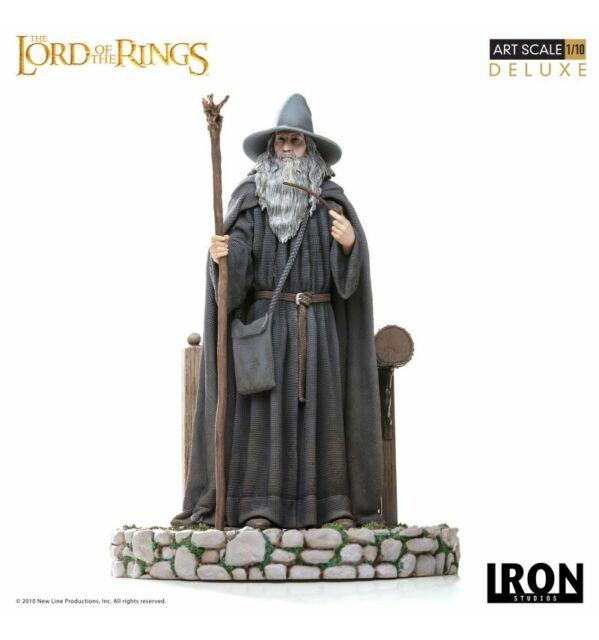 Iron Studios Le Seigneur des Anneaux statue 1/10 Deluxe Art Scale Gandalf