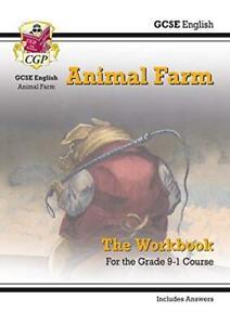New-Grade-9-1-GCSE-English-Animal-Farm-Workbook-includes-Answers-CGP-GCSE-E
