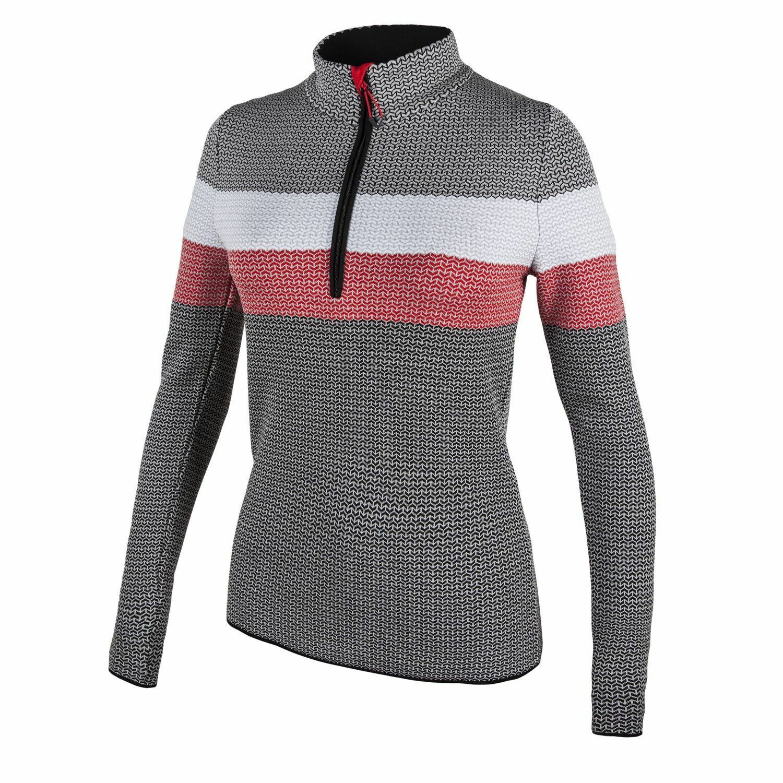 CMP Knitted sweater Function sweater grey Half-Zip Dryarn Dryfunction