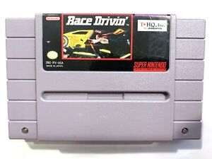 Race Drivin SUPER NINTENDO SNES GAME Tested + Working & Authentic!